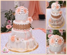 Wedding cakes available on order - Catering & Restaurant on Aster Vender