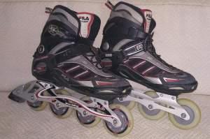 Adult in-line roller skates
