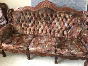 Set de Sofa Bois Teck - Living room sets on Aster Vender