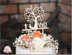 Special wedding cake design available on order - Catering & Restaurant on Aster Vender