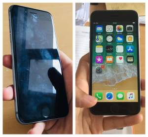 Iphone 6s 64 GB No scratch Rs 11 000. Call on 57616716 - iPhones on Aster Vender