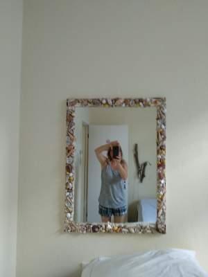 A vendre miroir encadrement coquillages  - Interior Decor on Aster Vender