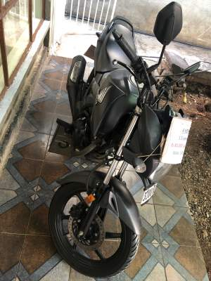 Motorcycle Honda Unicorn 160cc year 2017