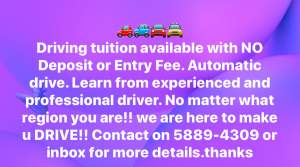 Driving tuition  - Sport Cars on Aster Vender
