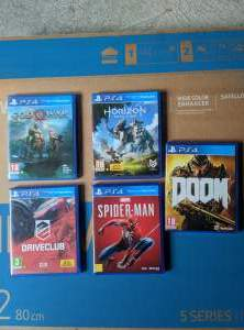 5 PS4 games  - PS4, PC, Xbox, PSP Games on Aster Vender