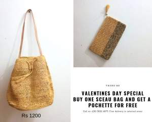 Valentines Day Special- Sceau Bag - Bags on Aster Vender