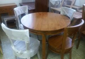 Cowboy Dining Set - Table & chair sets on Aster Vender