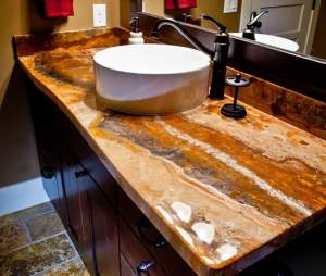Sink Countertops Epoxy - Bathroom on Aster Vender