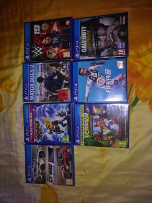 Ps4 Games all for 11500 or retailed price  - PS4, PC, Xbox, PSP Games on Aster Vender