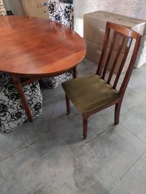 Table et 6 chaises en teck - Tables on Aster Vender