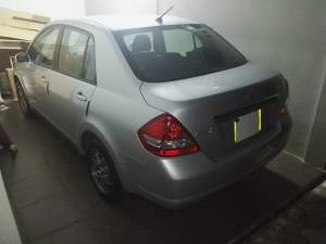 Nissan Tiida 1598cc - Family Cars on Aster Vender