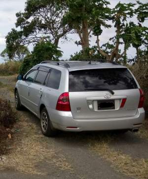 Toyota Fielder 2006 - Compact cars on Aster Vender