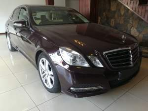 MERCEDES BENZ E-250 CGI FOR SALE  - Luxury Cars on Aster Vender