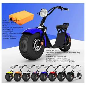 For Sale 2000 watts Harley Citycoco electric scooter Big wheel - Scooters (above 50cc) on Aster Vender