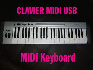Clavier maître MIDI USB - Electronic piano on Aster Vender