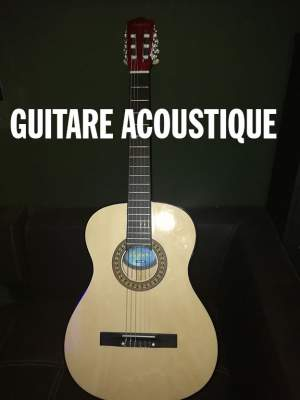 Guitare Acoustic - Accoustic guitar on Aster Vender