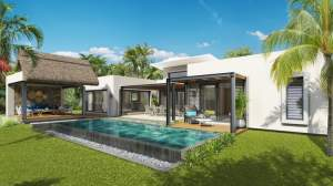 Trou aux Biches project PDS villas accessible to foreigners  - House on Aster Vender