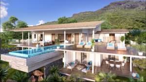 Rivière Noire villa RES avec vue imprenable - Apartments on Aster Vender