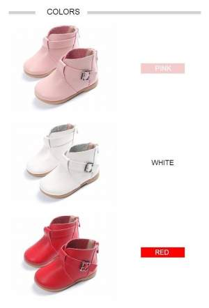 Children Fashion Leather Boots - Socks & Leg wear (Kids) on Aster Vender