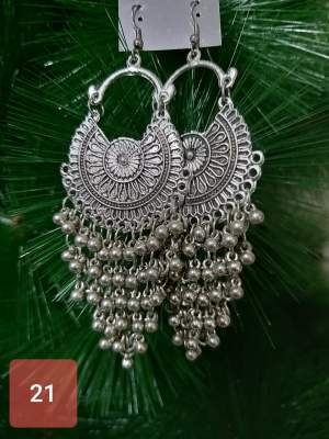 Oxidised Earings - Others on Aster Vender