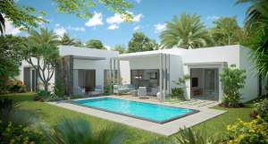 Villas with PDS status near the city center of Grand Bay  - House on Aster Vender