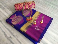 Saree with jewellery set - Dresses (Women) on Aster Vender