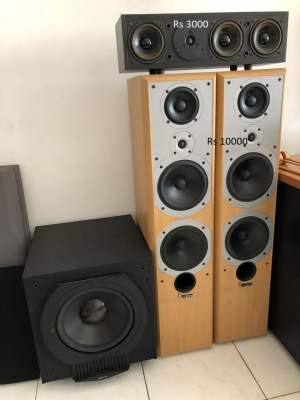 Multiple Speakers and Hi-Fi System for Sale - All household appliances on Aster Vender