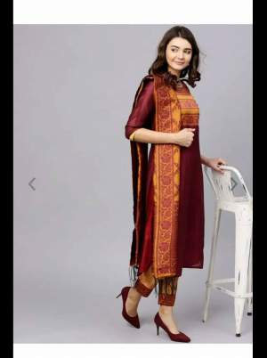 Dark red churidar - Suits (Women) on Aster Vender