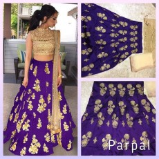 Semi stitched lehenga - Dresses (Women) on Aster Vender