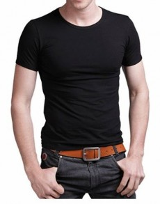 Round neck t-shirts - T shirts (Men) on Aster Vender