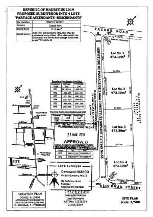 Four Residential plots of land of 11.20 perches i