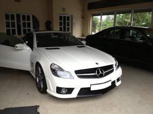 Mercedes Benz SL63 Coupe