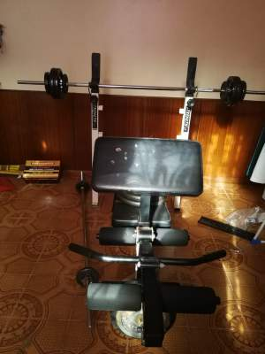 Gym Set  - Fitness & gym equipment on Aster Vender