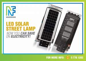 Solar panels flood lights n street lights with sensor  - Others on Aster Vender