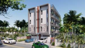 Flic en Flac apartments for sale with common pool, near the beach - Apartments on Aster Vender