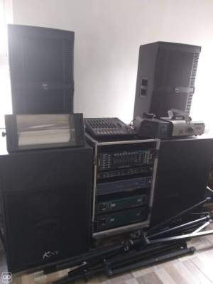 DJ Sound System - Other Musical Equipment on Aster Vender