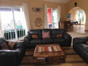 Set of 3 leather sofas - Living room sets on Aster Vender