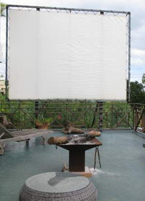 GIANT CINEMA SCREEN 4MX3M