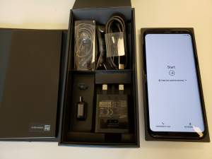 Open Box New Other Samsung Galaxy S8+  64GB Black Factory Unlocked - Android Phones on Aster Vender