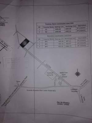 25 perches residential plot in Belle Vue at 75,000/perche  - Land on Aster Vender