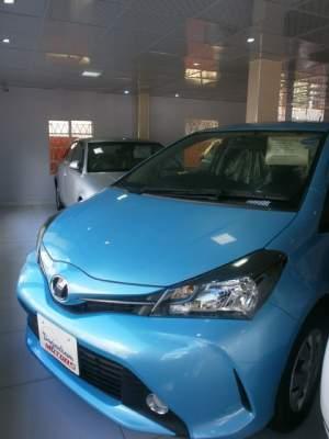 Toyota Vitz  - Family Cars on Aster Vender
