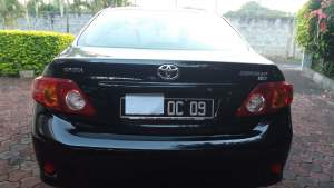 Toyota Corolla Automatic 1500cc - Family Cars on Aster Vender