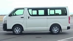 Van Hiace - Passenger Van on Aster Vender