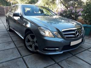 2013 Mercedes Benz E200 AMG - Family Cars on Aster Vender