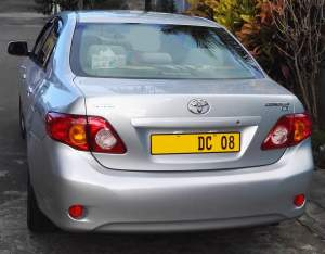 Toyota Corolla Dec 2008 JAPAN Made - Family Cars on Aster Vender