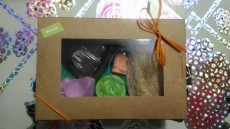 Gift boxes with ALL NATURAL HANDMADE sponge and soap - Creative crafts on Aster Vender