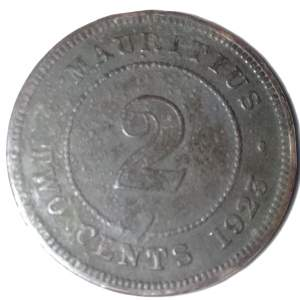 2 cents coin 1925 - Old stuff on Aster Vender