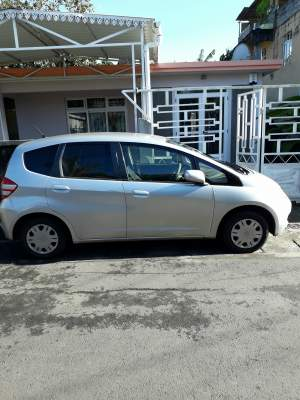 Honda Fit grey
