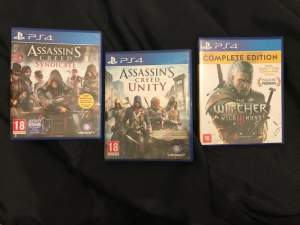 Ps4 Games ( 3 ) - PS4, PC, Xbox, PSP Games on Aster Vender