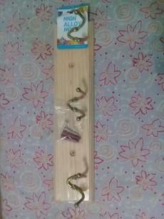 Wooden hooks - Bathroom on Aster Vender